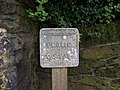 Public Footpath Sign near to Oughtibridge - geograph.org.uk - 716053.jpg