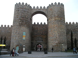Ávila, Spain - Gate Alcazar