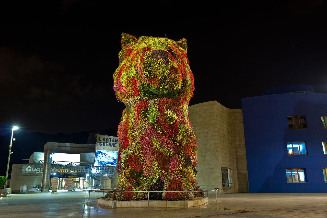 File Puppy By Jeff Koons Guggenheim Bilbao Jpg