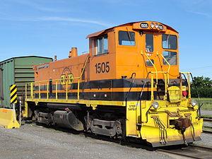 Quebec Gatineau Railway - Locomotive EMD SW1500 of the Quebec Gatineau Railway