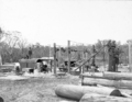 Queensland State Archives 2640 Sawmill in course of erection Stanthorpe October 1918.png