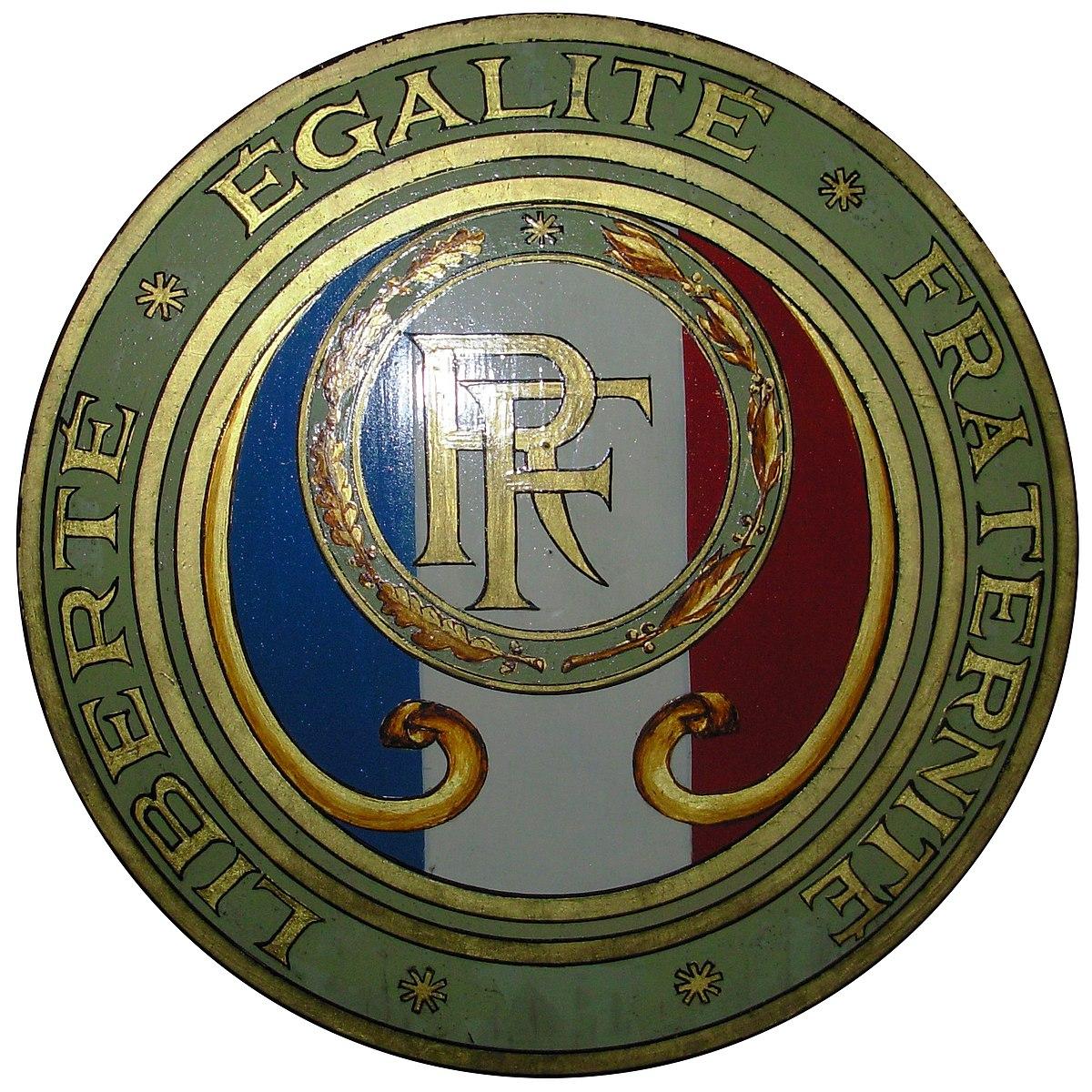 Libert galit fraternit wikipedia la enciclopedia for Republica francesa wikipedia