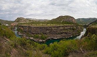 Morača - Morača valley north of Podgorica.