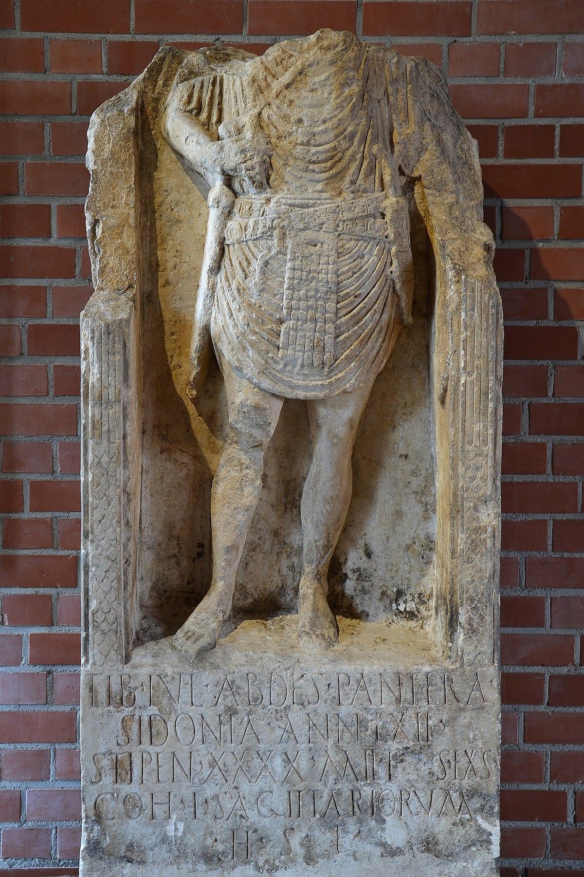 Tiberius Julius Abdes Pantera - Wikipedia