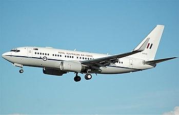 RAAF Boeing 737-7DT(BBJ) CBR Gilbert-1