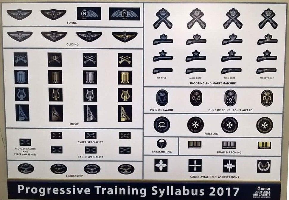 RAF Air Cadet Progressive Training Syllabus