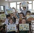 RIAN archive 490772 Children with their drawings.jpg