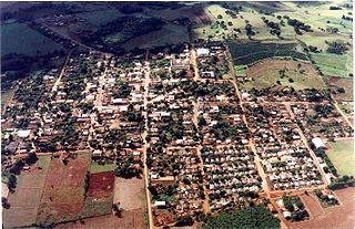 Rio Bom Municipality in Southern, Brazil
