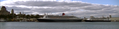 RMS Queen Mary 2 and MS Rotterdam in Quebec City.png