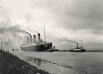 RMS Titanic sea trials April 2, 1912.jpg