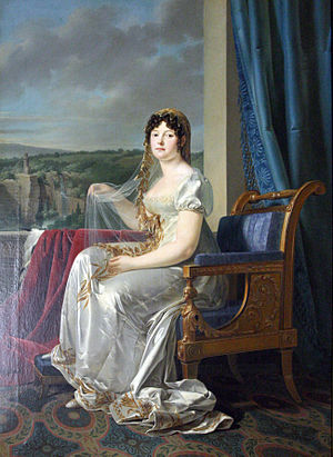 Catharina of Württemberg - A portrait of Queen Catharina in 1807