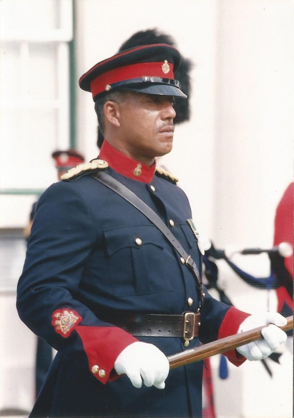 RSM of the Bermuda Regiment 1992