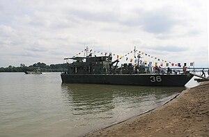 Serbian River Flotilla - Image: RSRB 39 Šabac