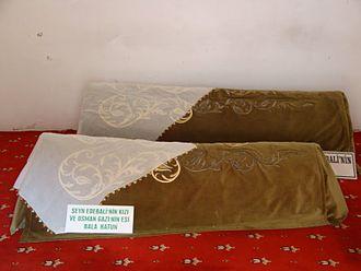 Rabia Bala Hatun - The Tomb of Rabia Bala Hatun located in Bilecik, Turkey.