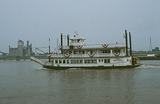 Iconography of St. Louis - Tom Sawyer on the Mississippi