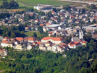 Radovljica Town in Upper Carniola, Slovenia