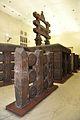 Railings with East Gateway - 2nd Century BCE - Red Sand Stone - Bharhut Stupa - Madhya Pradesh - Indian Museum - Kolkata 2012-11-16 1848.JPG
