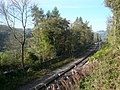 Railway Track running towards Whatstandwell - geograph.org.uk - 593281.jpg