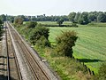 Railway near Narborough - geograph.org.uk - 236652.jpg