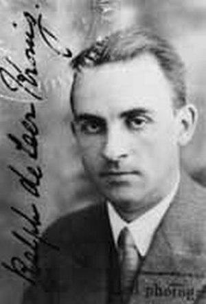Ralph Kronig - Ralph de Laer Kronig (1904–1995)