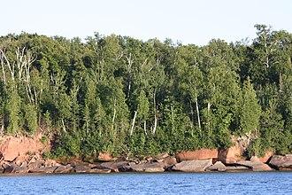 Raspberry Island (Wisconsin) - Image: Raspberry Island Apostle Islands National Lakeshore