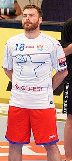 Rastko Stojković Serbian handball player