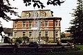 Rat der Gemeinde, Tabarz, Thüringen mit Brunnen, DDR, Aug 1989 (4431085021).jpg