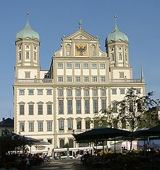 The City Hall of Augsburg