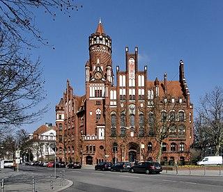 Schmargendorf Quarter of Berlin in Germany