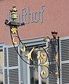 Ravensburg Marktstraße Mohren Wirtshausschild.jpg