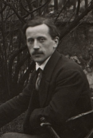 Raymond Duchamp-Villon - Raymond Duchamp-Villon, c.1913, photo in the Smithsonian Institution Archives of American Art