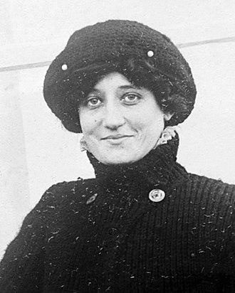 Raymonde de Laroche - Raymonde de Laroche in August 1909