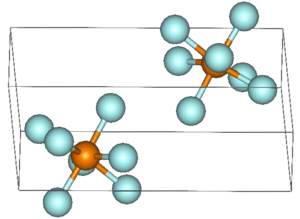 Rhenium heptafluoride - Image: Re F7 structure