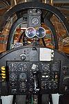 Rear cockpit of Fouga CM.170R Magister 'MT13' (34992256961).jpg