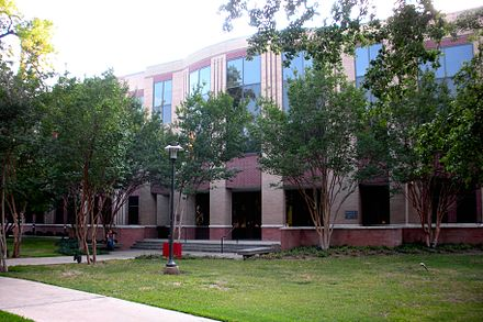 Moores School of Music Building, constructed in 1997 Rebecca and John J. Moores School of Music.JPG