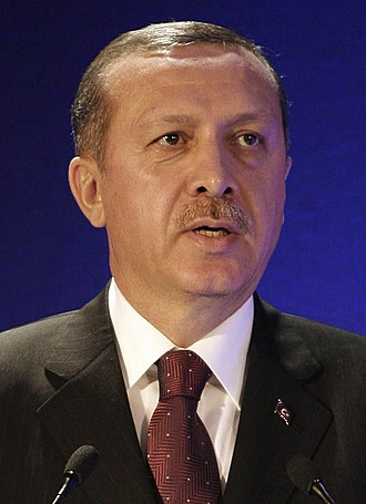 2014 Turkish local elections - Image: Recep Tayyip Erdogan WEF Turkey 2008 (cropped)