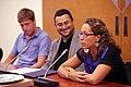 Recepcio a Esther Nuñez i Damian Blaum del Club Natacio Sabadell 1.jpg