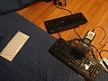 Recording typing sounds with different keyboards.jpg
