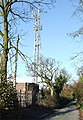Red Lane with Phone Mast, Sedgley, Staffordshire - geograph.org.uk - 617121.jpg