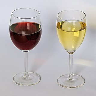 Wine alcoholic drink made from grapes