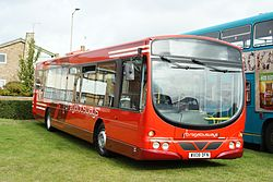 Regal Busways bus (WX08 DFN), 2009 Canvey Island bus rally.jpg