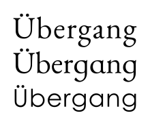 Tipografia thesis the serif
