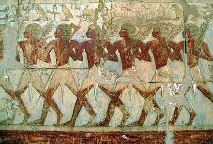 Hatshepsut's trading expedition to the Land of Punt. - Ancient Egypt