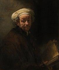 Autoportrait en apôtre Paul