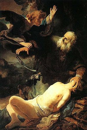 Rembrandt The Sacrifice of Abraham