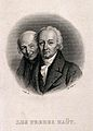 René-Just Haüy and his brother Valentin. Engraving by A. Boi Wellcome V0006750.jpg