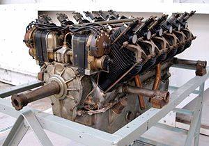 V12 engine - Renault V12 aeroengine
