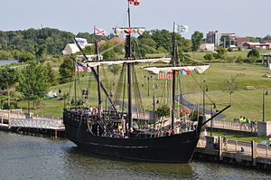 Pinta (ship) - Replica of La Pinta commissioned by the Columbus Foundation