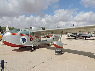 Republic RC-3 Seabee - Republic Seabee preserved at the Israeli Air Force Museum in Hatzerim