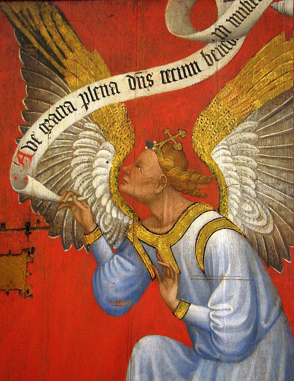 Retable Annonciation Musée de Laon  dans immagini sacre 593px-Retable_Annonciation_Mus%C3%A9e_de_Laon_70908_5